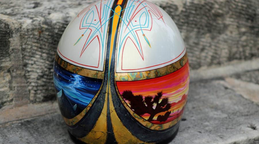 HiRoad Motorcycle Helmet by Kate Cook