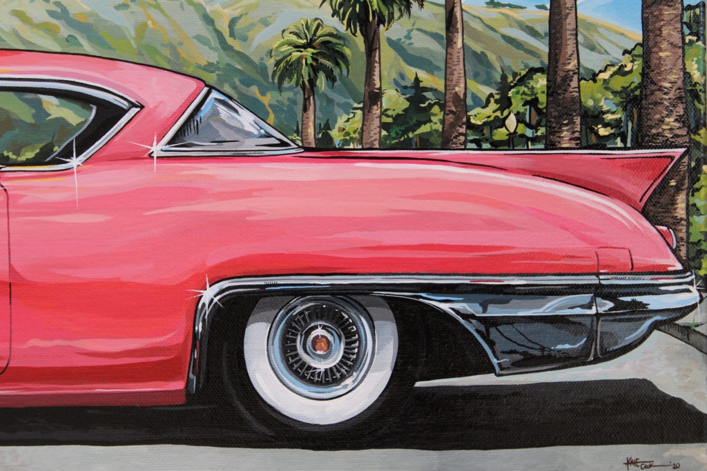 Hollywood Painting Detail