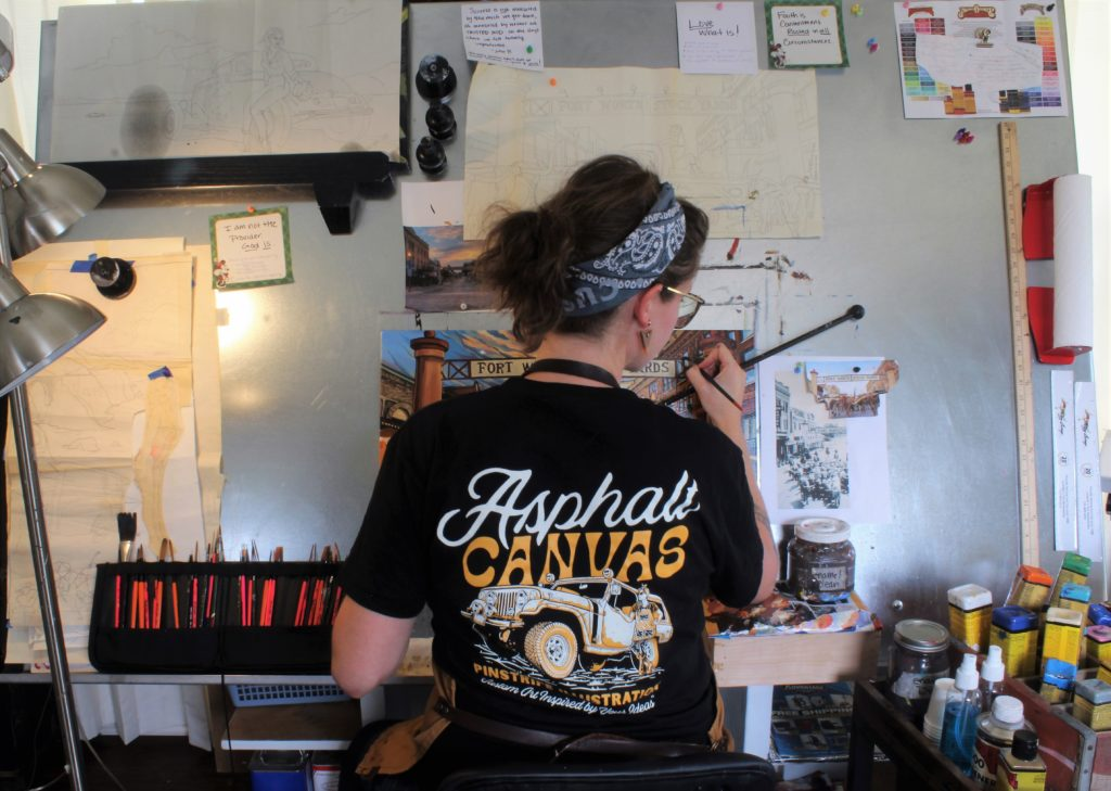 Kate Cook Artist in Central Texas