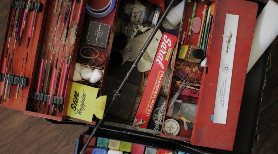 Kate Cook's Art Tool Box